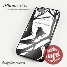 Game of Thrones Jon Snow's Journey Phone Case for iPhone 4/4s/5/5c/5s/6/6s/6 Plus for $10.99