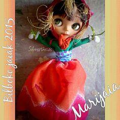 Caty basaak doll disfrazada de Marijaia, Aste Nagusia / Semana Grande Bilbao.