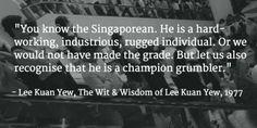 Lee Kuan Yew's thoughts and sayings (Background photo: Yahoo Newsroom)