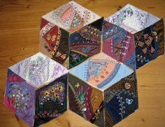 Diamond block crazy quilt - Pintangle | Page 9