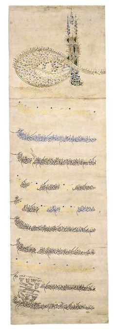 Sultan III. Mehmed Berat›