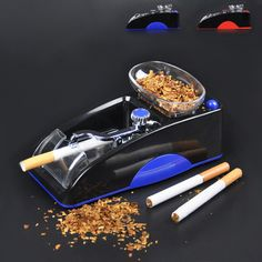 Electric Cigarette Machine Easy Automatic Making Rolling Machine Tobacco Electronic Injector Maker Roller DIY Smoking Tool