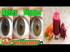 ROMPE TUS LENTES!!! Recupera la Vista 97% con Estos 10 Remedios para los Ojos, CATARATA, MIOPIA Y - YouTube