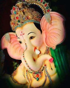 Ganesh Bhagwan, Ganpati Bappa Wallpapers, Ganpati Picture, Ganesh Lord, Lord Ganesha Paintings, Shree Ganesh, Religious Images, Hindu Deities, Beautiful Girl Image