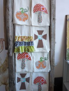 new kitchen towels...great hostess gift or teacher happy These can be found at Bumbletees in Germantown, TN  owner Jan Haynes ''''''''''''''''