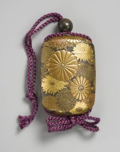 Beautiful inro found on Ruth Pullman, Textiles and Leatherwork, UK