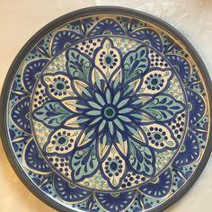 Plato marroquí hecho por Paulina Bustamante
