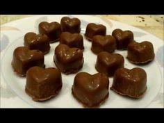 Receta Bombones de Chocolate (Muy Fácil)