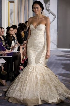 Ines Di Santo Monroe. My dream wedding dress