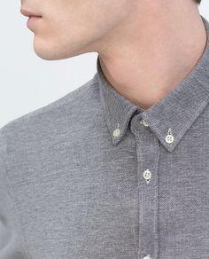 Image 3 of Piqué shirt from Zara