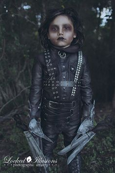 Little Edward Scissorhands | Flickr - Photo Sharing!