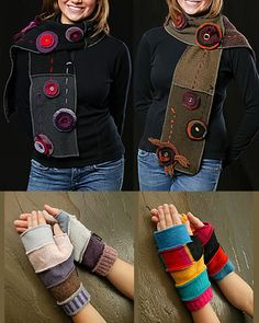 Recycled sweaters