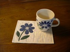 Flower matches cup