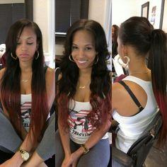 Pretty Sew in looks so natural Love Hair, Great Hair, Gorgeous Hair, Beautiful, Kinky Curly Hair, Curly Hair Styles, Natural Hair Styles, Weave Hairstyles, Pretty Hairstyles