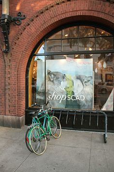Shop SCAD Store - by far one of the coolest stores in Sav. where you can purchase art work created by students, professors and alumni.