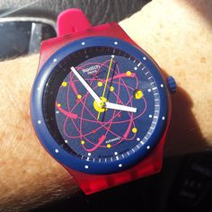 Swatch SISTEM PINK ©mightymegs2000