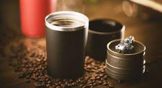 Cafflano Klassic Crams An Entire Coffee Setup Into A Travel Mug