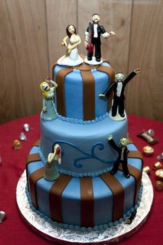 Zombie cake topper anyone?