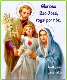 """1º de Maio - Dia de """"São José Operário"""". Acesse a """"Oração a São José"""", completa, no nosso blog."""