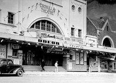 Located in the beach resort of Cronulla, a south Sydney suburb. The Cronulla Theatre was opened on October with a seating capacity for Vintage Movie Theater, Vintage Movies, Sydney Australia, Australia Travel, Old Pictures, Old Photos, Bronte Beach, Sydney Beaches, Land Of Oz