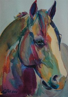 "Daily+Paintworks+-+""Paint+Pony+29""+-+Original+Fine+Art+for+Sale+-+©+Lyn+Gill"