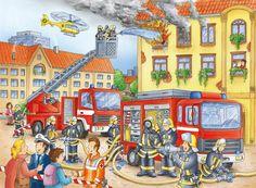 praatplaat de brandweer