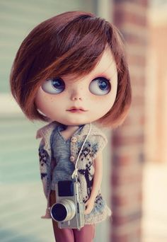 Custom Blythe doll by Erica Fustero-Tibiloo