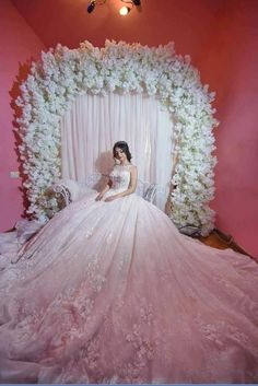Exceeding doubled quinceanera party decorations go now helpful helped pretty quinceanera dresses order now get it before christmas Quince Dresses, Ball Dresses, 15 Dresses, Bridal Dresses, Ball Gowns, Girls Dresses, White Wedding Gowns, Boho Wedding Dress, Dream Wedding Dresses