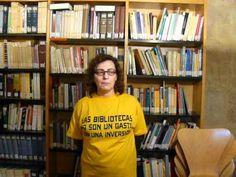 Mª José,participante de Lass uns Sprechen, apoya a las Bibliotecas Públicas. 2013 T Shirts For Women, Tops, Fashion, Public Libraries, Lets Go, Moda, Fashion Styles, Fashion Illustrations