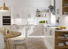 Shaker Kitchen in White Gloss