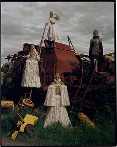 Contact Kat Chadwick, Sam Rollinson, Rosie Tapner & Charlotte Wiggins Northumberland, UK British Vogue December 2013