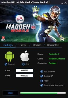 Madden NFL Mobile Hack Tool 2015 Free Download {Updated}