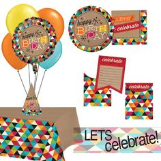The perfect way to celebrate at any age! Just because you aren't a kid dosent mean you shouldn't celebrate your birthday every year! These awesome general birthday patterns are great no matter what age you are turning!