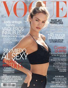 Candice Swanepoel by Mariano Vivanco Vogue España April 2013