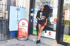 A look at the outfits of Cipriana Quann.