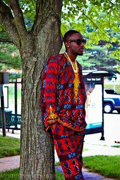 #AFRICANFASHIONOGS Pinterest - @houstonsoho   Nigerian #ANKARA