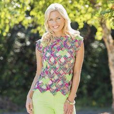 Mitered V Top Free Knitting Pattern
