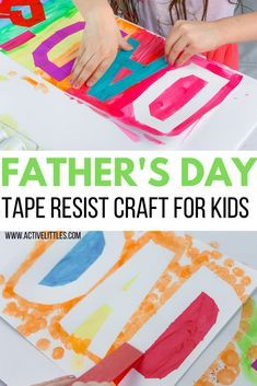 Fathers Day Craft Toddler, Fathers Day Art, Easy Toddler Crafts, Cool Fathers Day Gifts, Crafts For Kids, Diy Father's Day Gifts From Daughter, Diy Father's Day Gifts From Baby, Easy Father's Day Gifts, Father's Day Activities