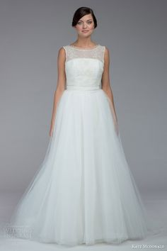 Kate McDonald Fall 2015 Wedding Dresses | Wedding Inspirasi | (With Overskirt = Ball Gown)>>>>