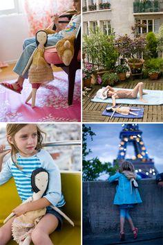 cute idea - Kiki & Coco in Paris - Stephanie Rausser