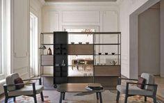 Librerie divisorie: come dividere gli spazi con il design [FOTO] - Sempre più utilizzate negli ultimi anni per dividere e caratterizzare gli ambienti open space, le librerie divisorie sono una soluzione pratica, estetica e di design.
