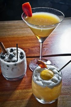 3 breakfast-for-dinner cocktails at Stone Rose Lounge