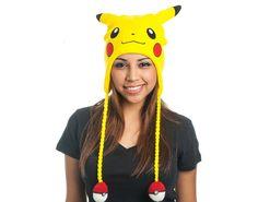 Czapka Pikachu Pokemon uszatka