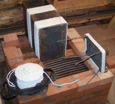 Колпаковая печь Кузнецова: простая конструкция для постройки своими руками Tray, Kitchen, Board