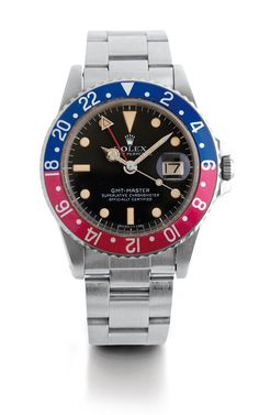 Rolex 1675 GMT - Will be sold in our next summer public auction in Monte-Carlo - July 28th, 2014 - Visit us www.boule-auctions.com