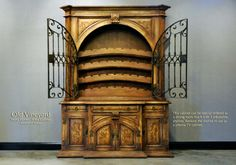 Tuscan Style Wine Cabinet