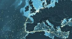 This interactive map shows the movements of tens of thousands of cargo ships…