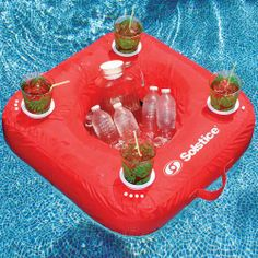 Sunsoft™ Inflatable Pool Drink Caddy