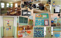 Kouzelníci z 1.B - vše v jednom :-D School Decorations, Harry Potter, Gallery Wall, Teaching, Education, Onderwijs, Learning, Tutorials