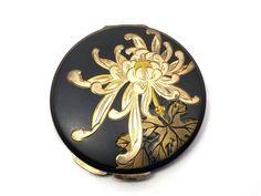Two-Tone Damascene Сhrysanthemum Flower Japanese Powder | Etsy